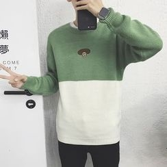 Hansler - Color-Block Sweater