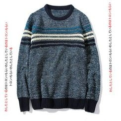 Blueforce - Striped Crewneck Sweater