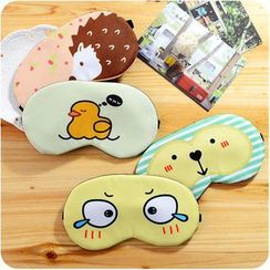Desu - Cartoon Printed Eye Mask