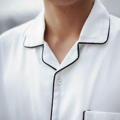 MRCYC - Short-Sleeve Contrast Piping Shirt