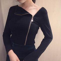 Shopherd - Long-Sleeve V-neck T-Shirt