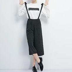 LUIMINE - Striped Jumper Pants