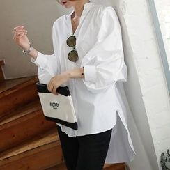 Deedlit - 3/4-Sleeve Long Blouse