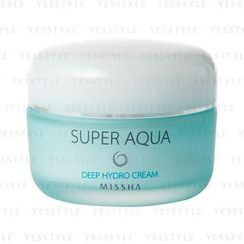 Missha - Super Aqua Deep Hydro Cream