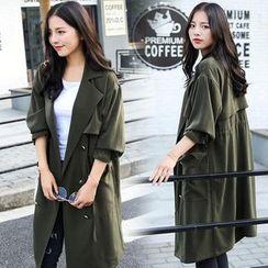 Romantica - Plain Trench Coat