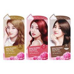 The Face Shop - Mild Bubble Perfume Hair Color (#7R Rose Velvet Red) 90ml