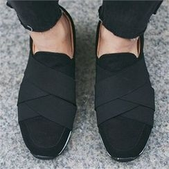 MITOSHOP - Banded Slip-Ons