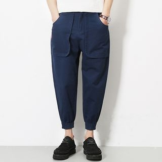 Telvi - Cropped Harem Pants