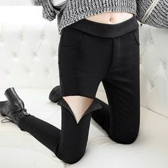 Jenny's Couture - Fleece Lined Skinny Pants