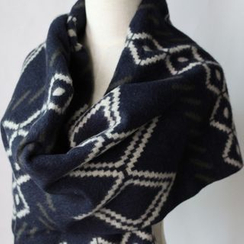 Ms Bean - Patterned Scarf