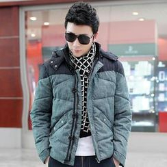 Alvicio - Detachable Hood Padded Jacket