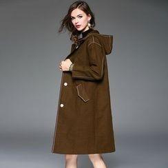 Queen Mulock - Hooded Coat