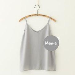 Meimei - 雪纺小背心