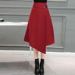 Shiga - 不对称中长裙