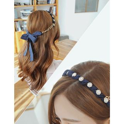 soo n soo - Chain Layered Hair Band