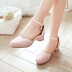 Pristeen - Ankle Strap Pumps