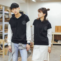 Simpair - Embroidered Couple Matching Hoodie