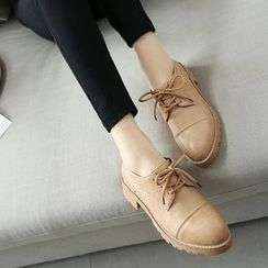 Pretty in Boots - Plain Lace Ups