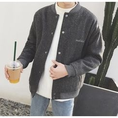 Bestrooy - Embroidered Baseball Jacket