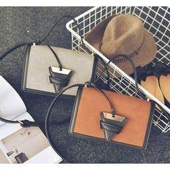 Youshine - Color Panel Shoulder Bag