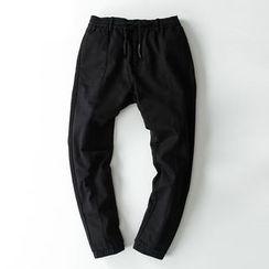 MiNGLI - 纯色哈伦裤