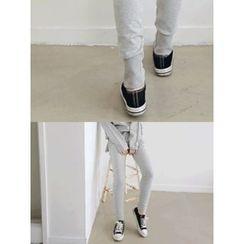 LOLOten - Slim-Fit Cotton Sweatpants