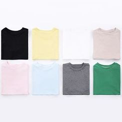 Heynew - Plain Short-Sleeve T-shirt