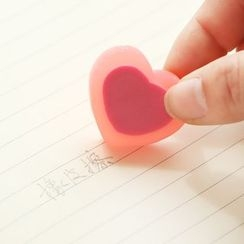 YouBuy - Set of 2: Heart Shaped Eraser