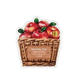 The Saem - Natural-Tox Apple Mask Sheet 1pc