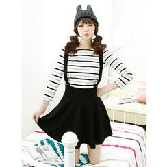 Dodostyle - Band-Waist Jumper Skirt