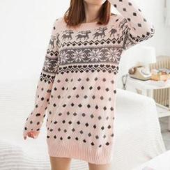 Tokyo Fashion - Nordic Pattern Sweater