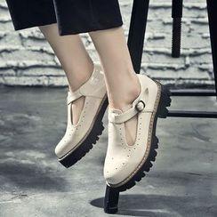 VIAN - Patent Platform Shoes