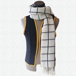 Comic Closet - Fairy Tail NUTS Check Woolen Scarf