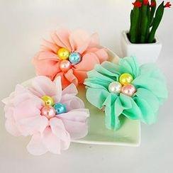 Chapa - Kids Beaded Flower Hair Tie