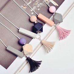 缀好 - 吊苏项链
