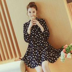 EFO - Floral Chiffon Dress