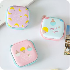 Good Living - Printed Earphone Pouch