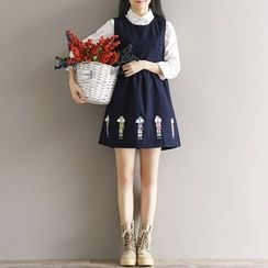 Fancy Show - 刺绣背心裙