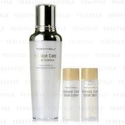 Tony Moly - Intense Care Snail Essence Set (3 items): Essence 35ml + Skin 20ml + Lotion 20ml