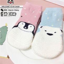March Daisy - 小童防滑纹袜子
