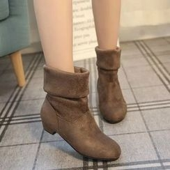 Yoflap - Low Heel Ankle Boots