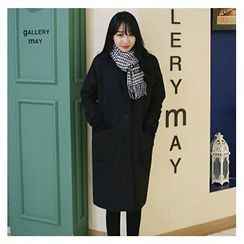 OTTI - Padded Long Woolen Coat