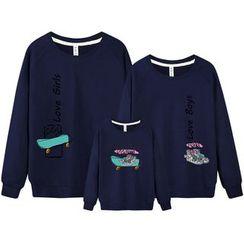 Panna Cotta - Family Matching Printed Sweatshirt