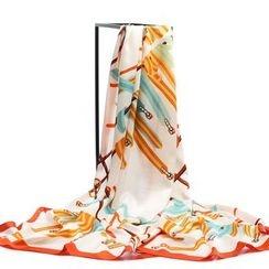 羚羊早安 - 印花絲巾