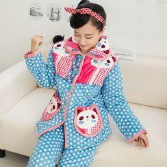 Kream - Pajama Set: Nursery Padded Top + Pants