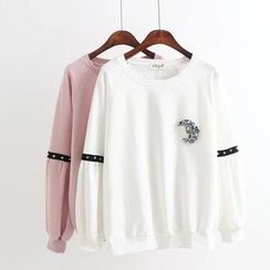 Angel Love - Rhinestone Sweatshirt