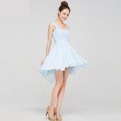 Gracia - Sleeveless Chiffon Bridesmaid Dress