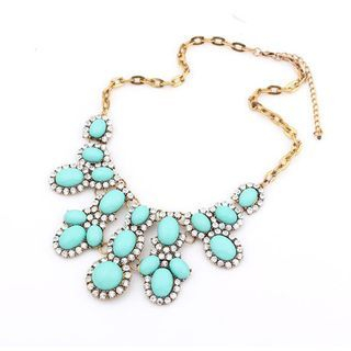 Best Jewellery - Rhinestone Statement Necklace