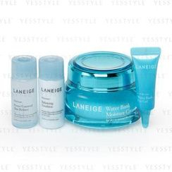 Laneige - Water Bank Moisture Cream_EX Set: Cream 50ml + Skin Refiner 15ml + Emulsion 15ml + Eye Gel 3ml