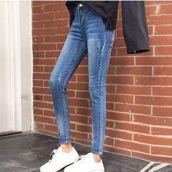 Napkiki - Washed Slim-Fit Jeans